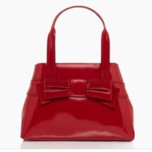 Kate Spade Red Patent Leather Handbag